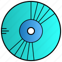 album, cd, disc, science, storage icon