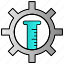 control, science, setting icon