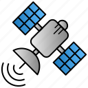 broadcasting, gps, satellite, science, space icon
