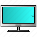 dasktop, science, television icon