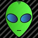 alien, avatar, monster, science icon