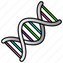 dna, genetics, lab, science icon