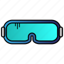 eyewear, glasses, lab, protection, science icon