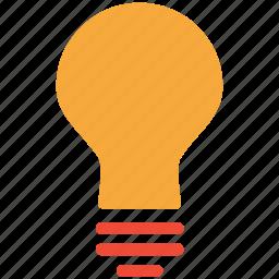 bulb, bulb light, lamp, light icon