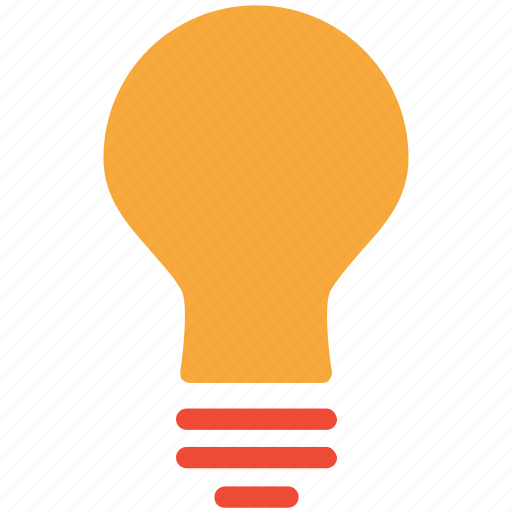 bulb, bulb light, lamp, light icon