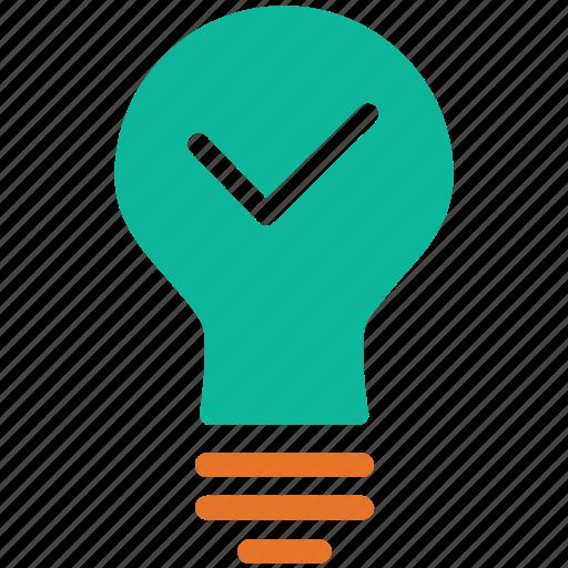 bulb, light, light bulb, switch on icon