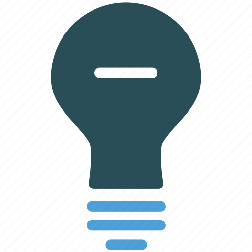 bulb, fused, light, light bulb icon