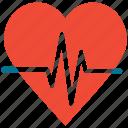 heartbeat, pulse, healthcare, heart