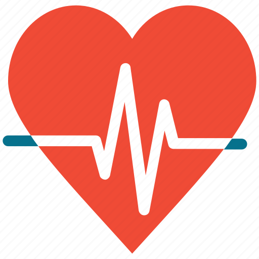 healthcare, heart, heartbeat, pulse icon