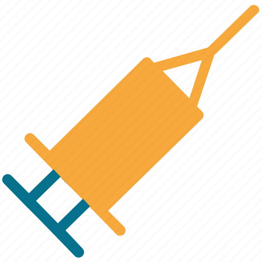 drug, injection, syringe, vaccine icon