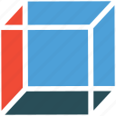 box, cubic, polygon, shape icon