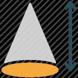 arc, draw, prism, shapes icon
