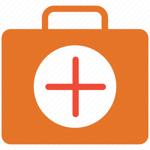 first aid bag, first aid kit, healthcare, help icon