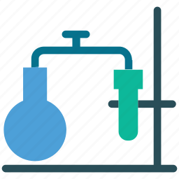 experiment, laboratory, science, test icon