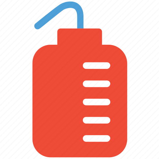 chemical, lab test, measuring jar, test icon
