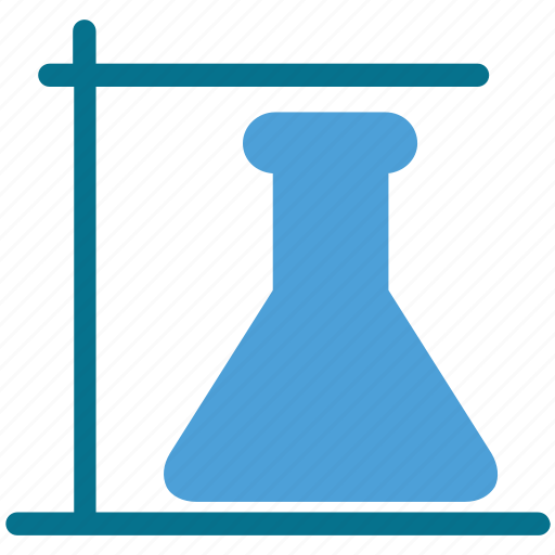 experiment, flask, laboratory, science icon