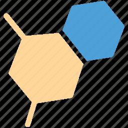 hexagon, hexagons, shape, sign icon