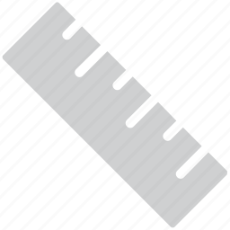 geometry tool, measure, ruler, scale icon