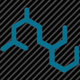 chemistry, hexagonal symbol, hexagons, lab icon