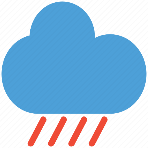 clouds, rain, raining, weather icon