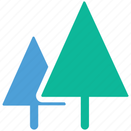ecology, fir, generic trees, trees icon