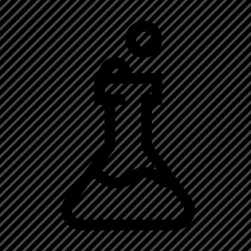 beaker, chemical, chemisty, science icon