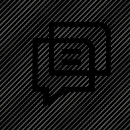 chat, conversation, linguistics, talk icon