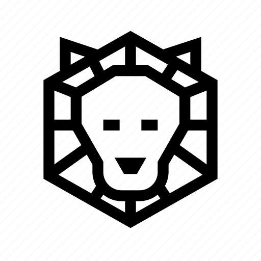 animal kingdom, lion, science, zoo icon