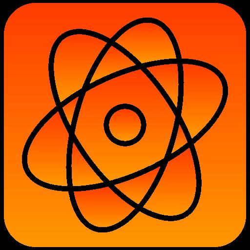 atom, scientific icon