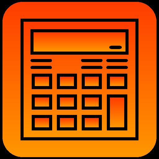 calc, calculator, scientific icon