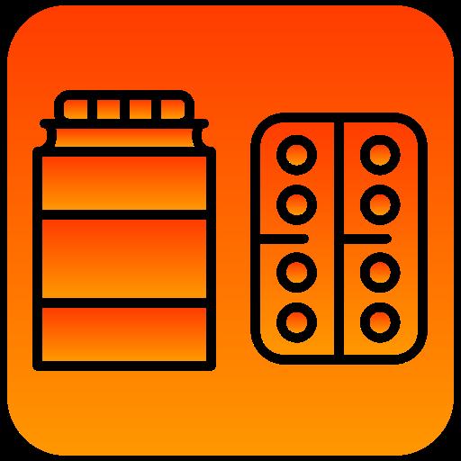 medicines, scientific icon