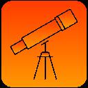 scientific, telescope, view