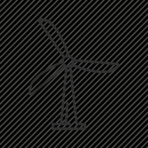 mill, modern windmill, propeller, wind device, wind instrument, windmill, windmill instrument icon