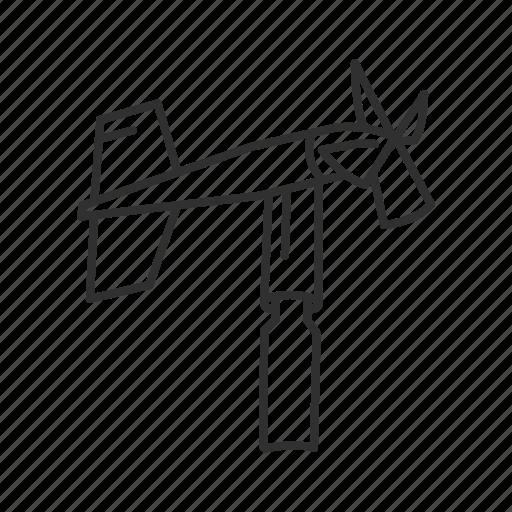 mill, propeller, scientific windmill, wind device, wind instrument, windmill, windmill instrument icon