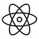 atom, chemistry, education, lab, laboratory, research, science icon