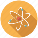 atom, chemistry, nuclear, orbit, physics, research, science icon