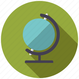earth, equipment, geography, geology, globe, research, science icon