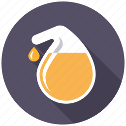 bulb, chemistry, equipment, laboratory, reactor, research, science icon