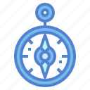 compass, direction, location, maps icon