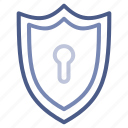 antivirus, autopilot, lock, protection, security icon