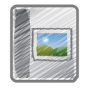 album, photo icon