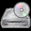 cd, driver icon