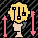 adaptation, adjust, improve, management, review icon