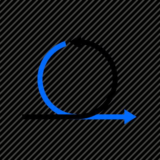 agile, development, iteration, process, scrum icon