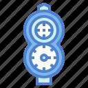 diving, console, scuba, gear, regulator