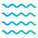 ocean, sea, sea wave, sea waves, summer time, water icon