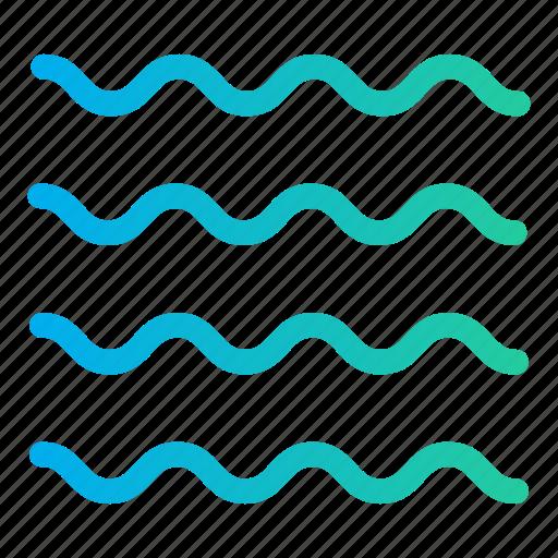 ocean, sea, sea wave, sea waves, summer time, water icon