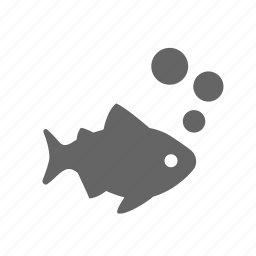 bubble, fish, life, nature, ocean, underwater icon