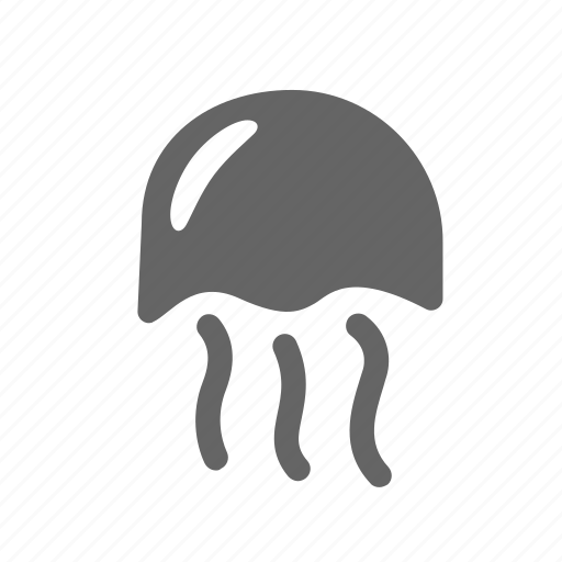 jellyfish, life, marine, medusa, ocean, poisonous, sea icon