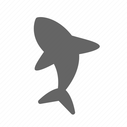 fin, fish, predator, sea, shark, swim, tail icon